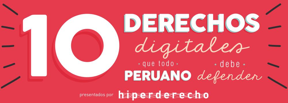 10 Derechos Digitales